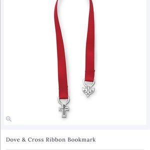 Dove and Cross Bookmark